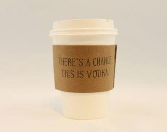 Funny and Honest Coffee Sleeves FREE SHIPPING