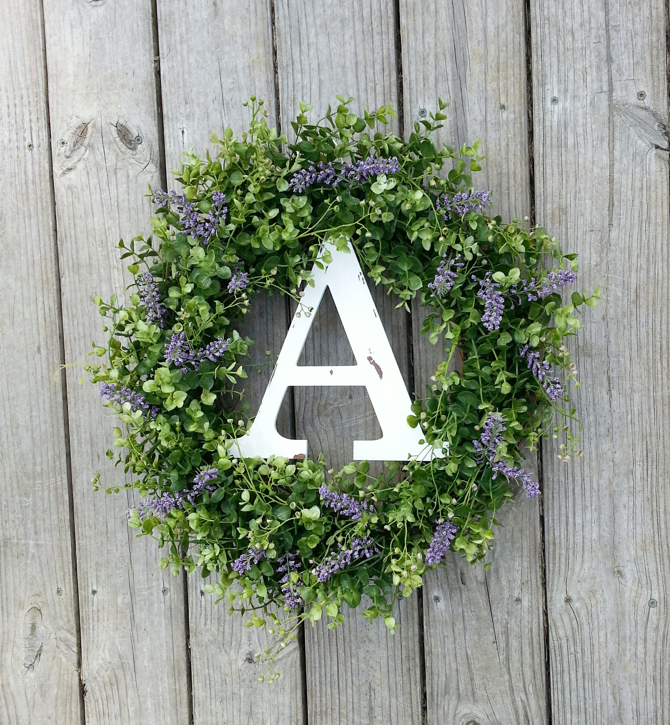 Boxwood Wreath, Monogram Wreath, Fall Wreath, Door Wreath, Wildflower Wreath, Year Round Wreath, Spring Summer Wreath, Rustic Wreath.