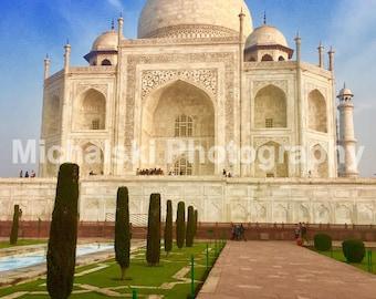 Taj Mahal in the Sunlight