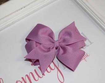 """Vintage Lavender Large 4"""" Pinwheel Bow"""