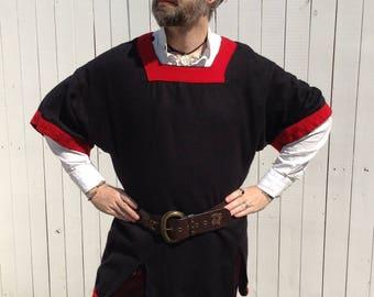 Medieval Tunic, Tabard, Viking Shirt