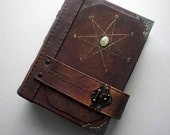 Grimoire with Seven-Pointed Star