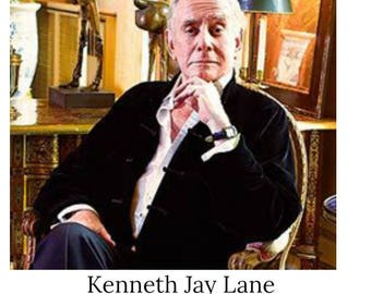 R.I.P. - KENNETH JAY LANE d. 7/20/17