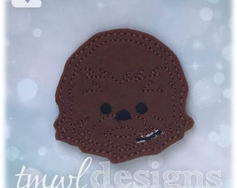 Chewy Tsum Feltie Digital Design File - 1.75""