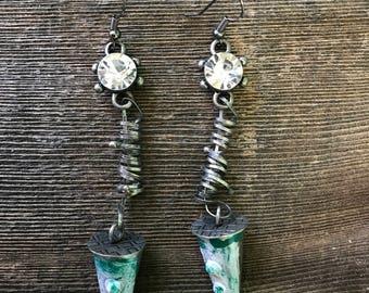 SteamPunk Cone Earrings