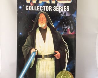 Star Wars 12 inch Obi-Wan Kenobi from the Kenner Collector Series - sealed in box NOS