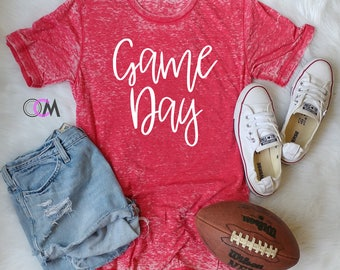 GAME DAY Shirt, Football Shirt, Baseball Mom Shirt, Baseball Shirt, Game Day Baseball Shirt, Football Mom Shirt, College Football