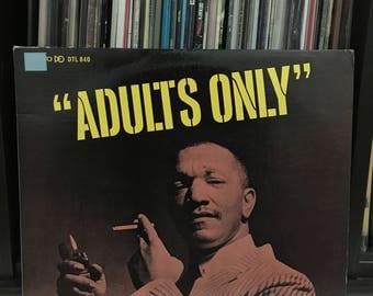 "Redd Foxx - ""Adults Only"" vinyl record"