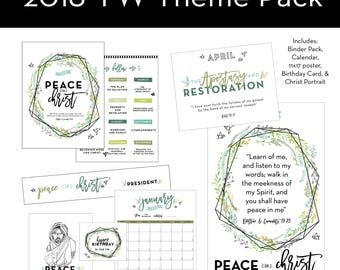 2018 LDS Youth Theme Peace In Christ