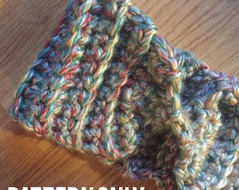 FARGO HEADWRAP // Crochet Pattern Only // Ear Warmer