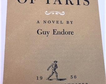 King of Paris by Guy Endore hardback book - 1956