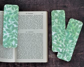 Artist Bookmark Set 7, Set of Three Collectible Handmade Bookmarks FREE UK SHIPPING Book Lover Gift stocking stuffer
