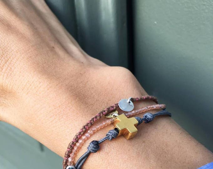 "Pulsera Cruz ""Hope"", mini"