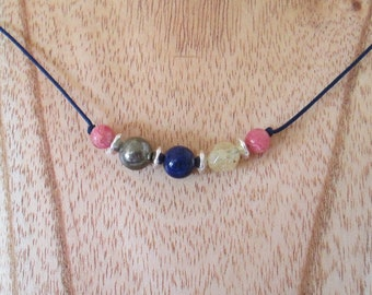 Self-Esteem Gemstone Necklace