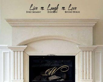 Love Wall Decal Etsy - Vinyl wall decals bed bath and beyond