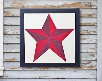 Star Wall Art texas star | etsy