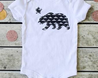 California baby etsy california bear baby onesie california baby bodysuit custom handmade baby clothes more negle Image collections