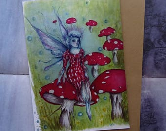 The Faerie Ring A5 Art Card