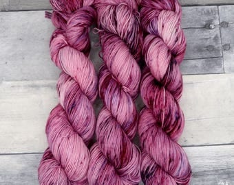 Amortentia - (Everyday Sock, variegated) - pinks, plums and aubergine