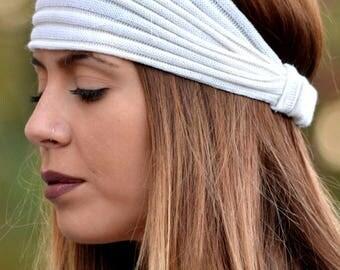 Ivory Headbands, Knitted Headbands, Handmade Headbands, Hippie Headbands, Fashion Headbands, Womens Head Wrap, Vintage Headbands, Hair Bands