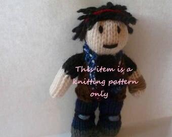 PDF knitting pattern: 5k (Z Nation)