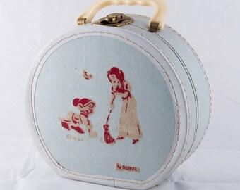 Vintage Child's Snow White Suitcase, Vintage Neeval Doll Case