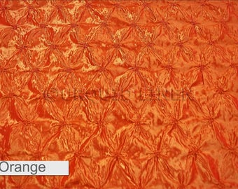 Tablecloths in Orange Belly Button (Pinwheel)  - Ideal for Weddings & Bridal Events