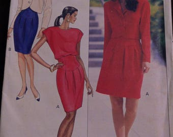 Kathryn Conover, New York, Butterick Sewing Pattern, Size 12-14-16, #6563