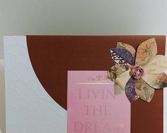 Living the Dream Card
