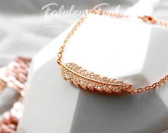 Rose Gold Bracelet spring