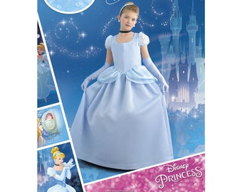 8490, Simplicity, Disney, Cinderella, Costume for Child, Girls Costume, Disney Princess Gown,  Disney Princess Gown, Gown, Cosplay, Dress Up
