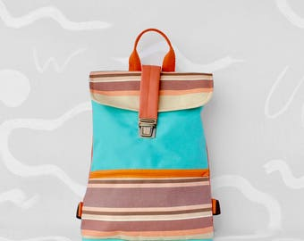 Backpack HONOLULU Turquoise