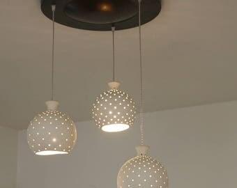 Modern Chandelier, Ceramic Lamp, Home Decor Light, Light Pendant, Ceiling Light, Hanging Light, Lamp Shade, Pendant Lighting, Light Fixtures