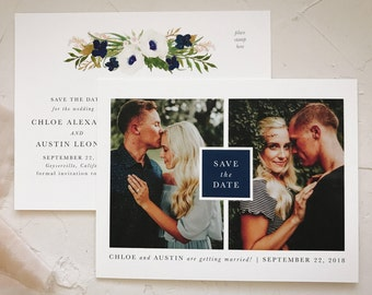 Save The Date Postcards, Photo Card Postcard Wedding, Photo Save the Date, Printable Save The Date Cards Postcard,