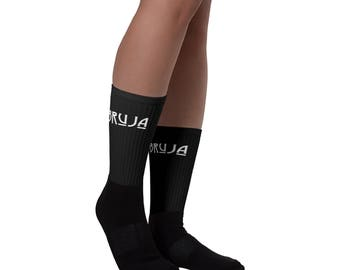 Bruja witch sublimated socks, Witch craft, Witch clothing