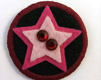 Steven Universe Crystal Gem Garnet Badge Pin Button Patch