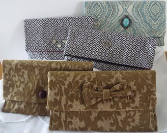 Envelope Clutch, Clutch, fold over clutch, handbag