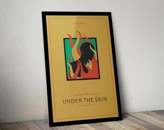 Under The Skin Movie Poster Print Scarlett Johansson