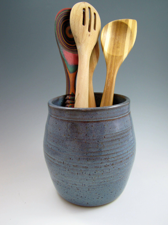 Kitchen Utensil Holder Pottery - Kitchen Design Ideas