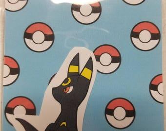 Pokemon Umbreon sticker