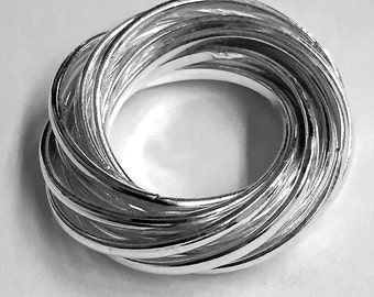 Twelve Classic Silver Bands