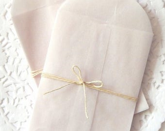 Small Glassine Envelopes. Glassine Envelopes. Planner Accessories. Junk Journal Paper. Journal Ephemera. Mini Envelopes. Wax Paper Bags.