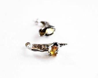 Citrine earrings birthstone jewelry november birthstone gemstone earrings birthstone earrings citrine jewelry gift for her under 100