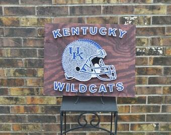 Kentucky Wildcats String Art
