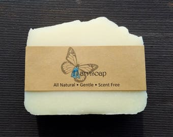 Harrisoap, Epidermolysis bullosa, Unscented Soap, Fragrance Free Soap, sensitive skin, soap for eczema, psoriasis soap, gentle soap for skin