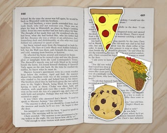 Snack Magnetic Bookmarks - Each Sale Contributes to Feeding America Charity