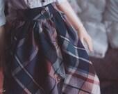 BJD Plaid Skirt