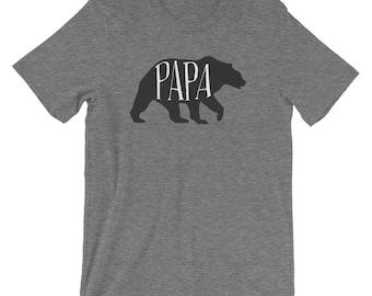 Papa Bear T Shirt | Papa Bear Shirt | Matching Family Tee shirt | New Dad Gift | Christmas Gift | Gift for him | Mama bear | Baby Bear |