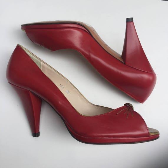 Pumps & High Heels for Women, Black, Leather, 2017, 3.5 6.5 8.5 Lulu Guinness