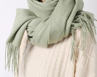 Lambswool scarf -Available in 10 colours